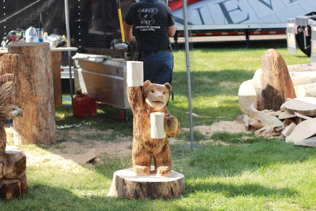 Creative work from the Chainsaw carver!