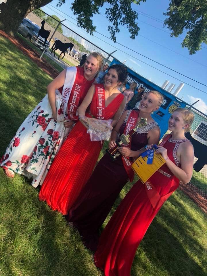 2018 Fair Queen Candidates